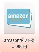 amazonギフト券 5,000円