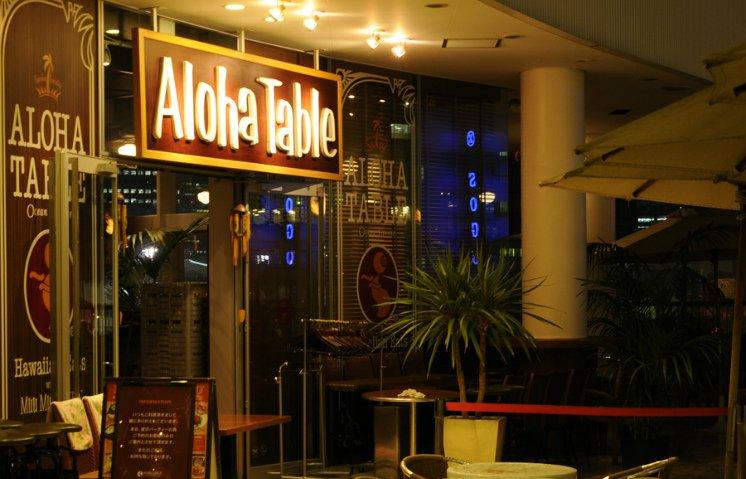 Aloha Table Ocean Breeze